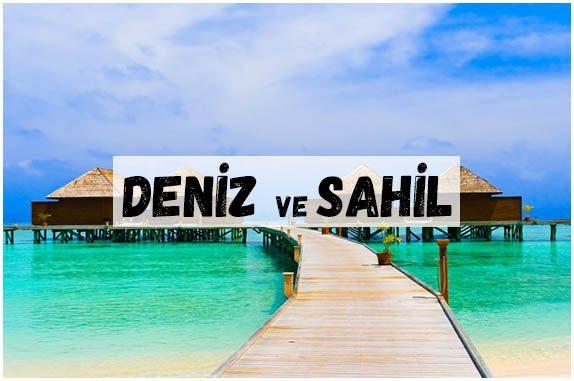 DENİZ SAHİL